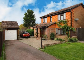 Thumbnail 4 bed detached house for sale in The Gilligans, Burgess Hill