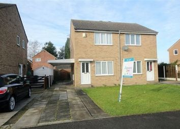 Thumbnail 2 bed semi-detached house to rent in Ryedale Way, Brayton, Selby