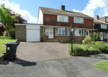 Thumbnail 3 bed semi-detached house to rent in Noel Green, Burgess Hill