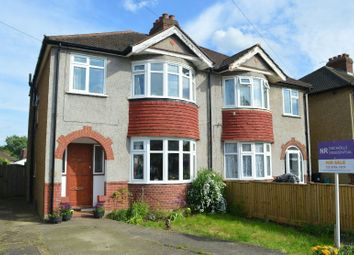 Thumbnail 3 bed semi-detached house for sale in Sunnymede Avenue, West Ewell, Epsom