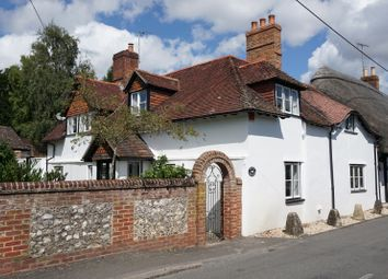 Thumbnail 3 bed cottage for sale in Goodworth Clatford, Andover, Hampshire