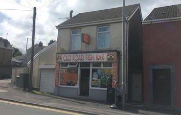 Thumbnail Retail premises for sale in Old Road Fish Bar, 12 Burrows Road, Skewen, Neath