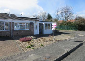 Thumbnail 2 bedroom semi-detached bungalow for sale in Christchurch Road, Hucknall, Nottingham