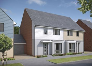 "Thumbnail 4 bedroom detached house for sale in ""Worswick"" at Armstrong Road, Newcastle Upon Tyne"