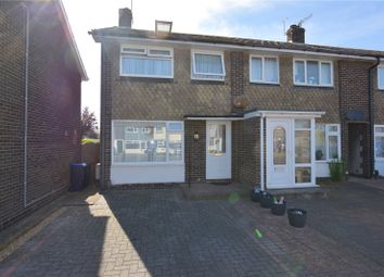 Thumbnail 2 bed end terrace house for sale in The Martlets, Sompting, West Sussex