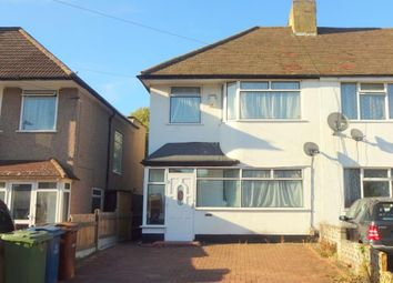 Thumbnail 3 bed semi-detached house to rent in Eastliegh Avenue, South Harrow, Middlesex