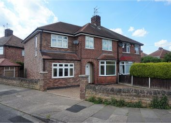 Thumbnail 4 bed semi-detached house for sale in East Crescent, Nottingham