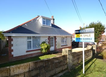 Thumbnail 3 bed detached bungalow for sale in Clevelands Road, Wroxall, Ventnor, Isle Of Wight.