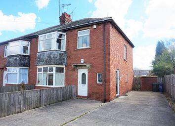 Thumbnail 2 bed flat for sale in Warrington Road, Fawdon