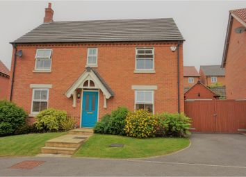 Thumbnail 4 bed detached house for sale in Ashington Drive, Nottingham