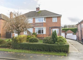 Thumbnail 3 bed semi-detached house for sale in Moorland View Road, Walton, Chesterfield