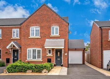 Thumbnail 3 bed end terrace house for sale in Rudyard Way, Cannock