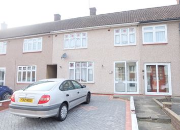 Thumbnail 3 bed terraced house to rent in Kettering Road, Harold Hill