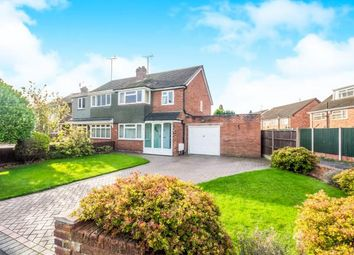 Thumbnail 3 bed semi-detached house for sale in Balmoral Drive, Willenhall, West Midlands
