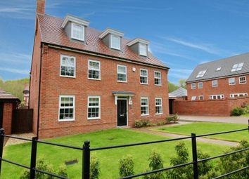 Thumbnail 5 bed detached house for sale in Josiah Drive, Barlaston, Stoke