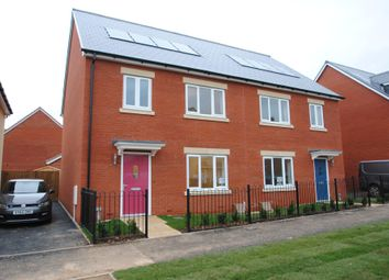 Thumbnail 4 bed semi-detached house for sale in Cleeve View, Bishops Cleeve, Cheltenham