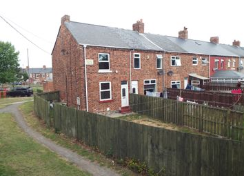 Thumbnail 2 bed end terrace house for sale in Railway Terrace, New Herrington, Houghton-Le-Spring