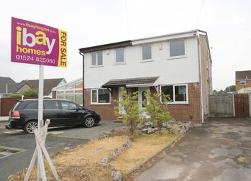 Thumbnail 2 bed semi-detached house for sale in Witherslack Close, Morecambe