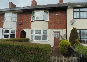 Thumbnail 2 bed terraced house to rent in Wendover Road, Erdington, Birmingham