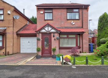 Thumbnail 3 bed detached house for sale in Linden Way, Droylsden, Manchester