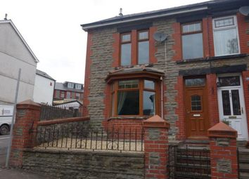 Thumbnail 3 bed end terrace house to rent in Conway Road, Treorchy