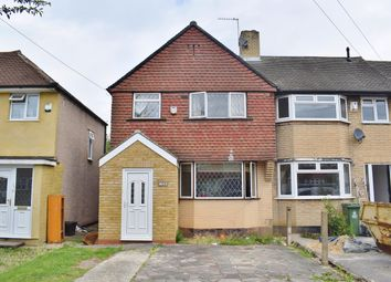Thumbnail 3 bed end terrace house for sale in Norfolk Crescent, Sidcup, Kent