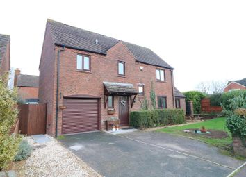 Thumbnail 4 bed detached house for sale in Foley Rise, Hartpury, Gloucester
