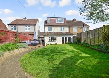 Thumbnail 5 bedroom semi-detached house for sale in Harold Road, Dartford, Kent