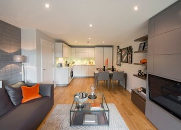 Thumbnail 1 bed flat for sale in Akerman Road, London