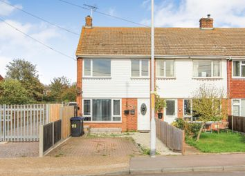 Thumbnail Terraced house for sale in Faversham Road, Seasalter, Whitstable