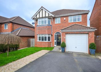 Thumbnail 4 bed detached house for sale in Burgh Wood Way, Chorley