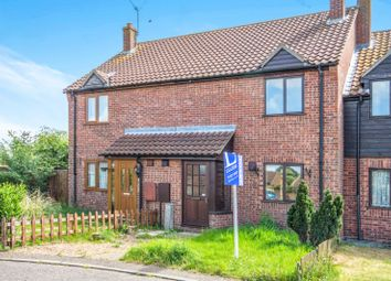 Thumbnail 2 bed terraced house to rent in Millfield Close, Ditchingham, Bungay