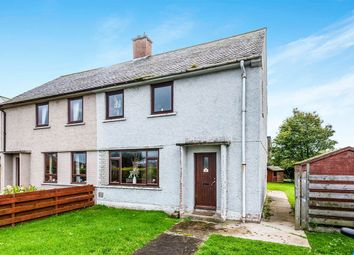 Thumbnail 3 bed semi-detached house for sale in Carrol Crescent, Brora