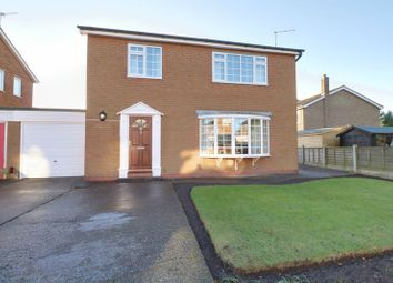 Thumbnail 3 bed detached house for sale in The Paddocks, Crowle, Scunthorpe