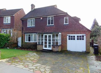 Thumbnail 3 bed detached house for sale in Ballards Way, South Croydon, Surrey