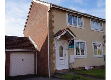 Thumbnail 2 bedroom semi-detached house to rent in Clos Ysgallen, Swansea
