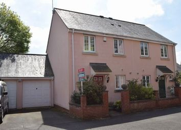Thumbnail 2 bed semi-detached house to rent in Redvers Way, Tiverton