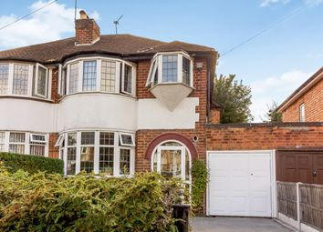 Thumbnail 3 bed semi-detached house for sale in Arden Croft, Solihull, West Midlands