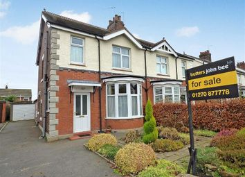 Thumbnail 3 bed semi-detached house for sale in Sandbach Road North, Alsager, Stoke-On-Trent