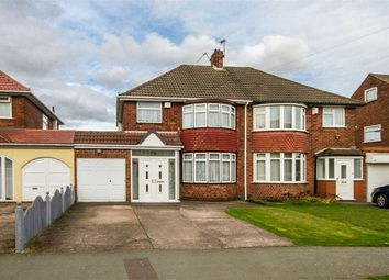Thumbnail 3 bedroom semi-detached house for sale in Ridge Lane, Wednesfield, Wolverhampton, West Midlands