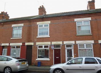 Thumbnail 3 bed terraced house to rent in Roberts Road, Leicester