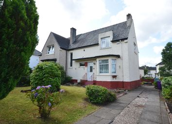 Thumbnail 3 bed semi-detached house for sale in Lincoln Avenue, Knightswood, Glasgow