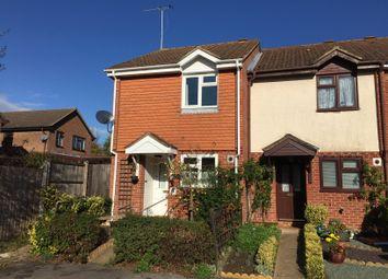 Thumbnail 2 bed end terrace house to rent in Summerfields, Chineham, Basingstoke