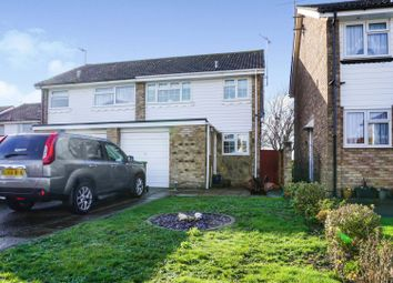 Thumbnail 3 bed semi-detached house for sale in Kimber Close, Lancing