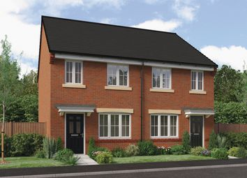 "Thumbnail 3 bed semi-detached house for sale in ""The Stretton"" At Ladyburn Way, Hadston, Morpeth NE65, Hadston, Morpeth,"