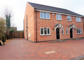Thumbnail 3 bed semi-detached house for sale in Cork Lane, Glen Parva
