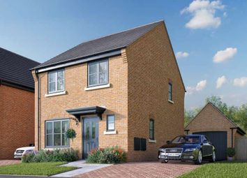 Thumbnail 3 bed detached house for sale in Mansell Close, Stafford