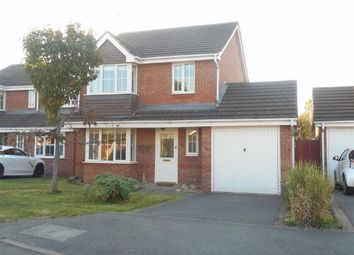 Thumbnail 3 bed detached house to rent in Whitehaven Grove, Chellaston