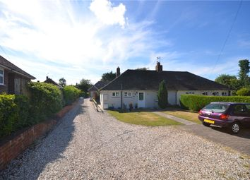 Thumbnail 3 bed semi-detached bungalow for sale in Manor Road, Sherborne St. John, Basingstoke