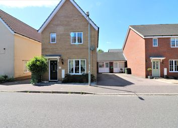 Thumbnail 3 bed detached house for sale in Russet Way, Dereham